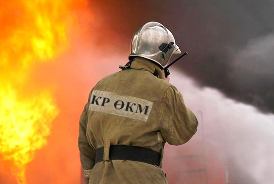 С пламенем боролся один пожарный расчет.