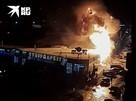 Момент взрыва на цветочном рынке Краснодара попал на видео