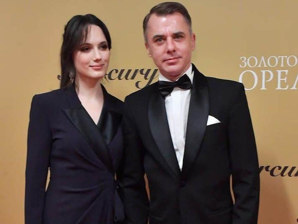 Актер Игорь Петренко с женой.