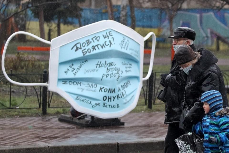 На Украине прививочная кампания еще даже не начиналась