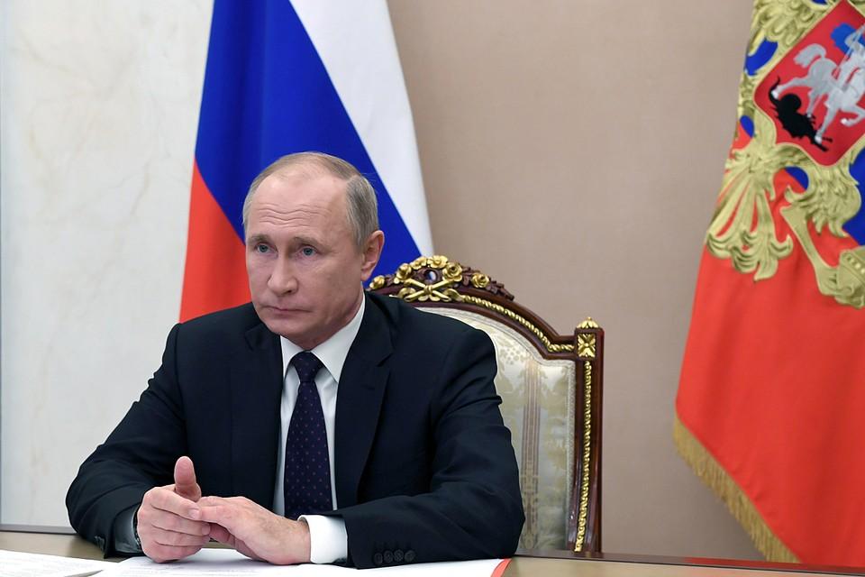 Путин заявил, что пандемия отступает.
