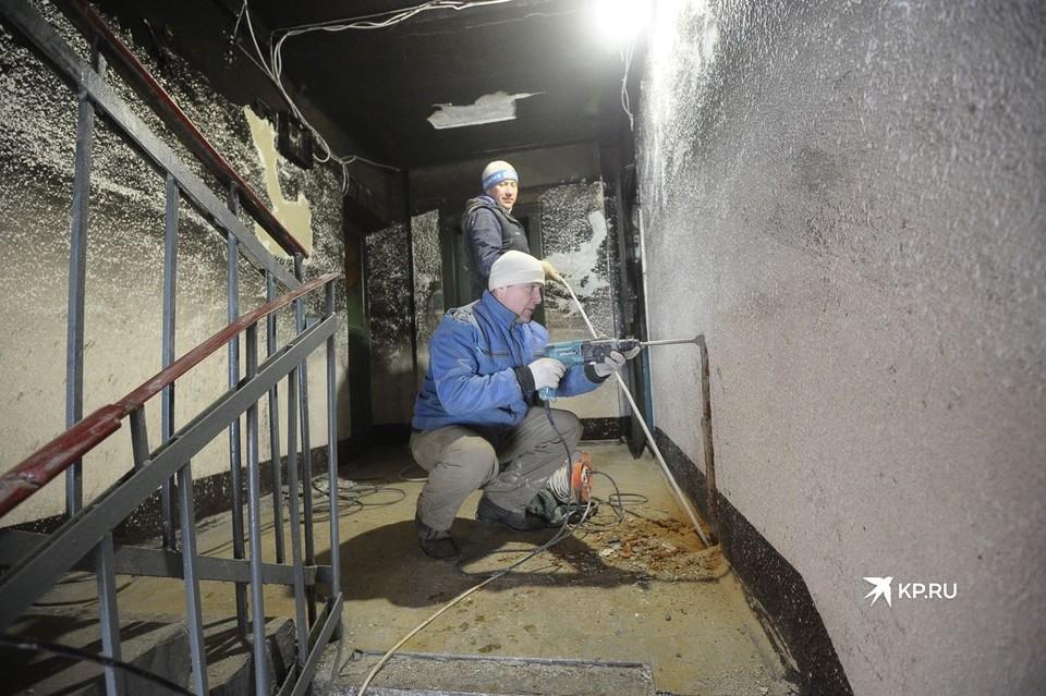Пожар в доме случился в ночь с 11 на 12 января.