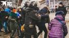 Поиграли в кошки-мышки: участники акции протеста бегали от полиции по всему центру Воронежа