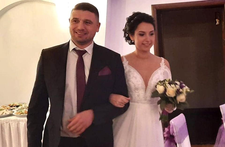 Свадебное фото Раду и Кристины. Следующим вечером жених станет жертвой загадочного убийства.