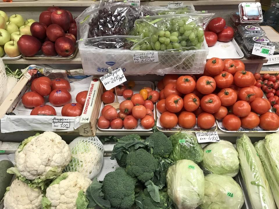 В России выросли цены на овощи и водку