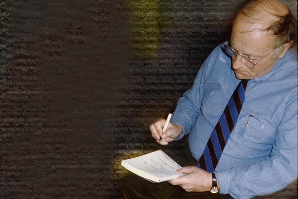 Бродский в том самом галстуке. Фото из личного архива Александра Стефановича