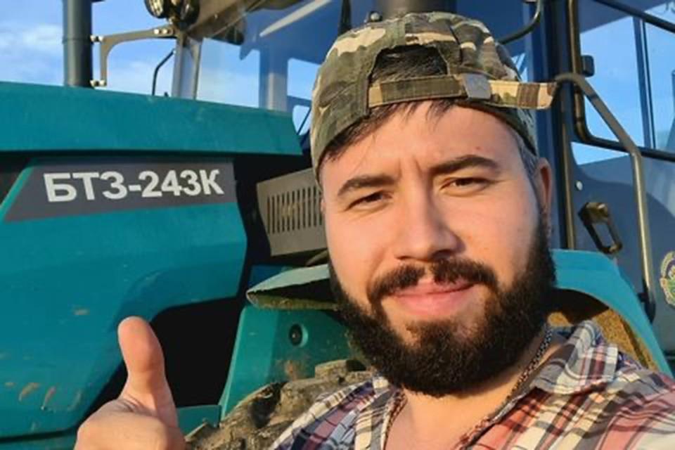 Фермер Иван Собко.