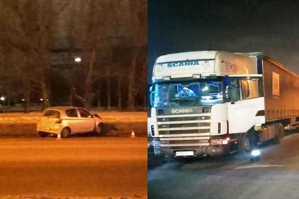 В Новосибирске двое мужчин угнали иномарку и попали на ней в аварию. Фото: Госавтоинспекция по Новосибирску