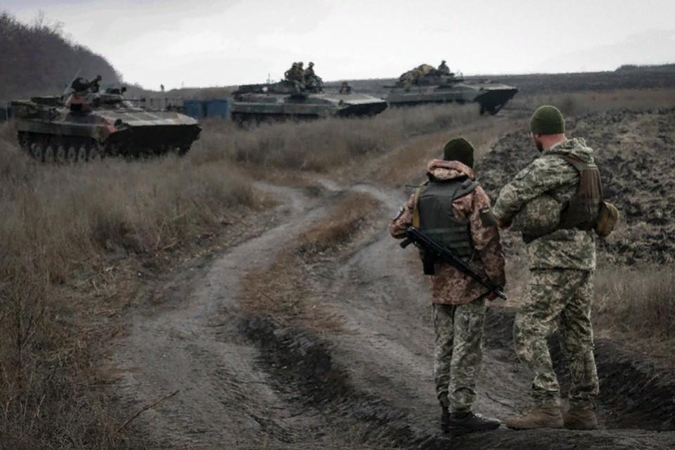 Украинская армия продолжает наращивать огневую мощь в зоне конфликта. Фото: штаб «ООС»