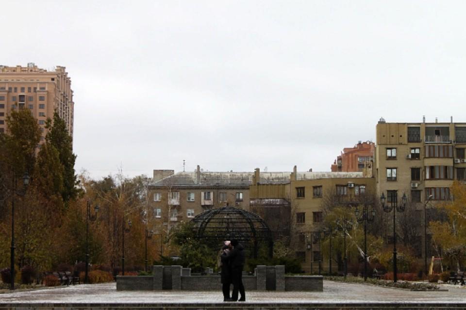 На протяжении всего дня в Донецке будет пасмурно