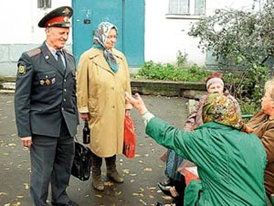 Эти подопечные «шерифа» Колькина помнят его еще лейтенантом.