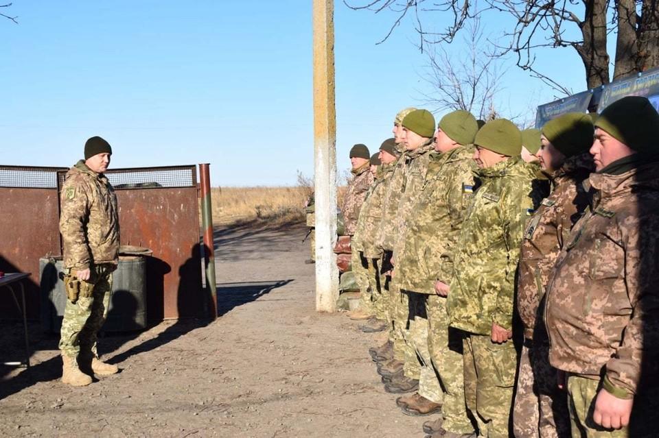 ВСУ дважды за сутки нарушили режим прекращения огня. Фото: штаб ООС
