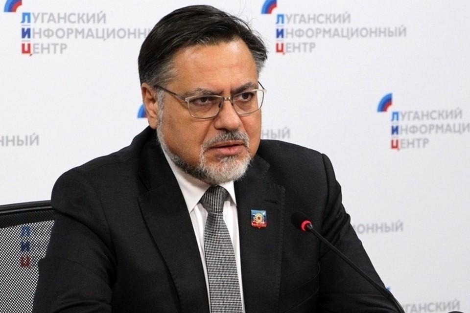 Полномочный представитель ЛНР на Минских переговорах Владислав Дейнего. Фото: ЛИЦ