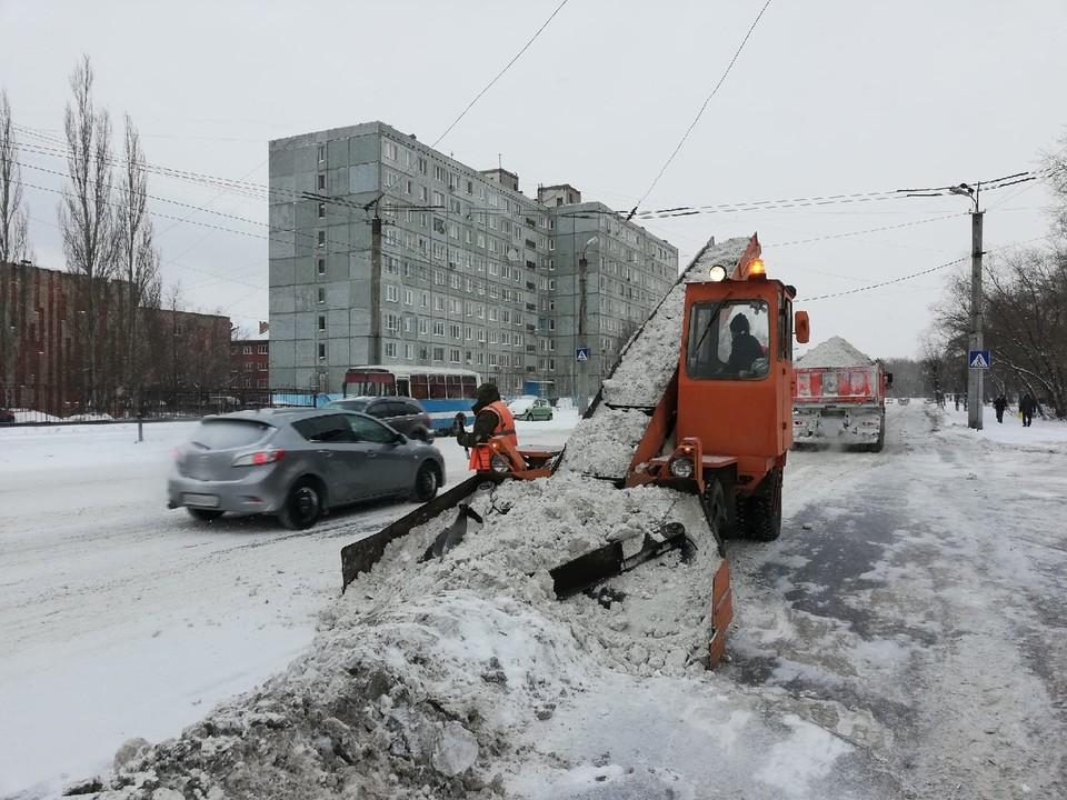 Омские дороги начали чистить только после того, как подключилась прокуратура.