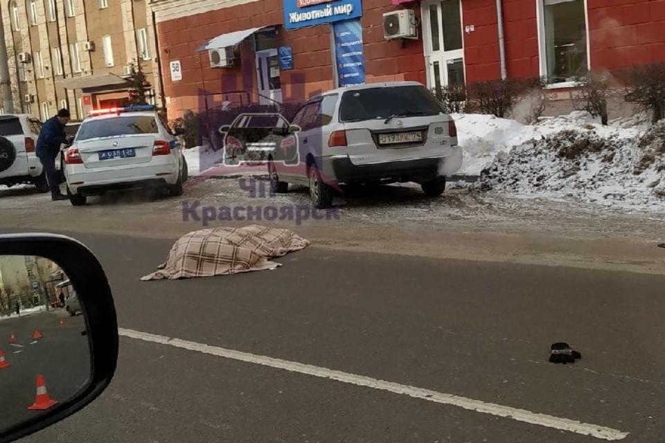 Водитель, сбивший пенсионерку, был абсолютно трезв Фото: ЧП Красноярск