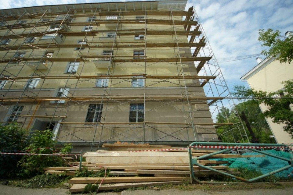 В 2021 году запланировано проведение ремонтных работ 950 многоквартирных домов.
