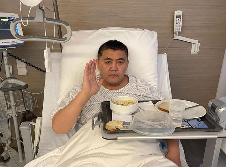 Глава ГКНБ успешно перенес операцию на сердце.