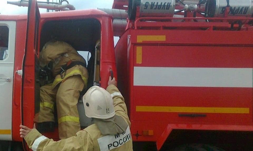Пожарные прибыли своевременно, сообщили в пресс-службе МЧС.