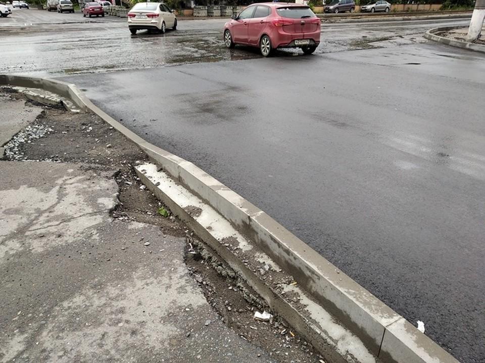 ДТП произошло на Клыкова