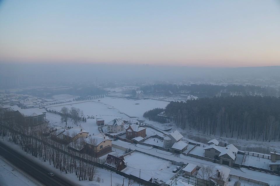 Погода в Красноярске: 15 февраля ожидается потепление
