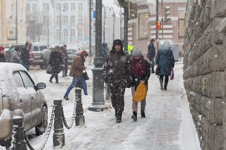 режим повышенной готовности введен во Владивостоке из-за циклона