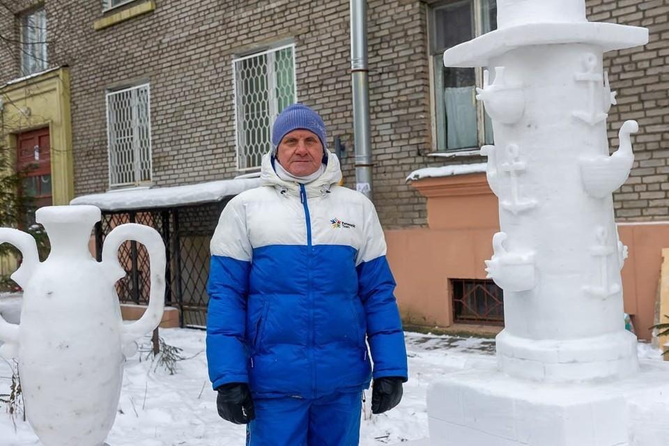 Свои чудесные творения Владимир Кузьмин создает уже почти 10 лет