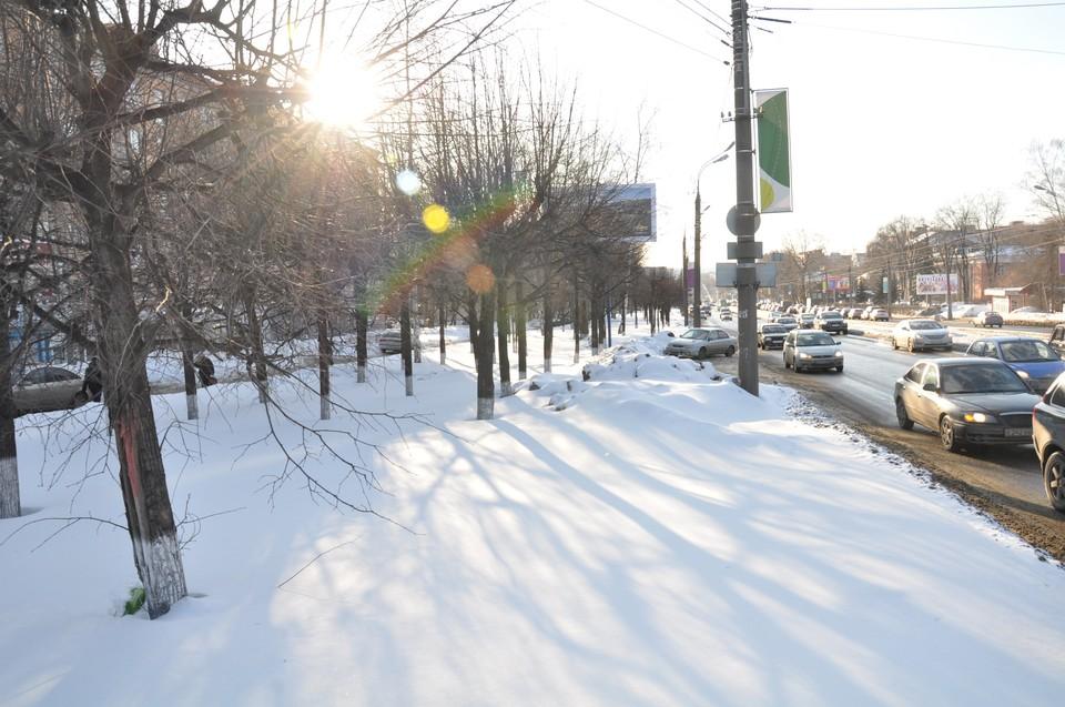 Днем в Ижевске будет морозно