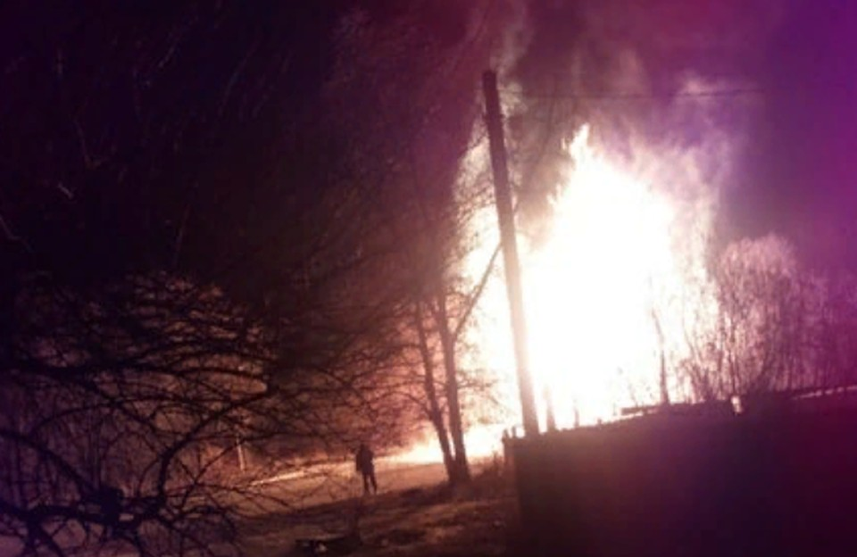 Взрыв произошел около полуночи 15 февраля. vk.com/lnr_org
