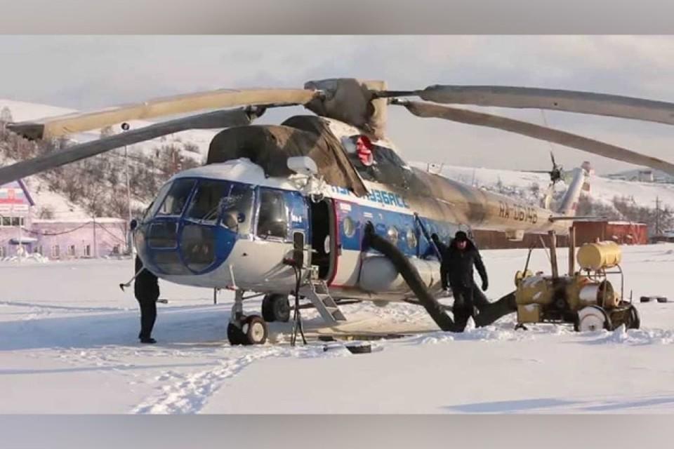 В соседний город - на вертолете: в Кузбассе начало работать аэротакси. ФОТО: инстаграм администрации Таштагольского района