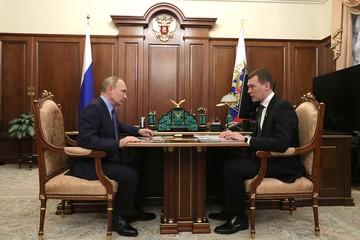 Михаил Дегтярёв отчитался Владимиру Путину за первые полгода работы врио главы Хабаровского края