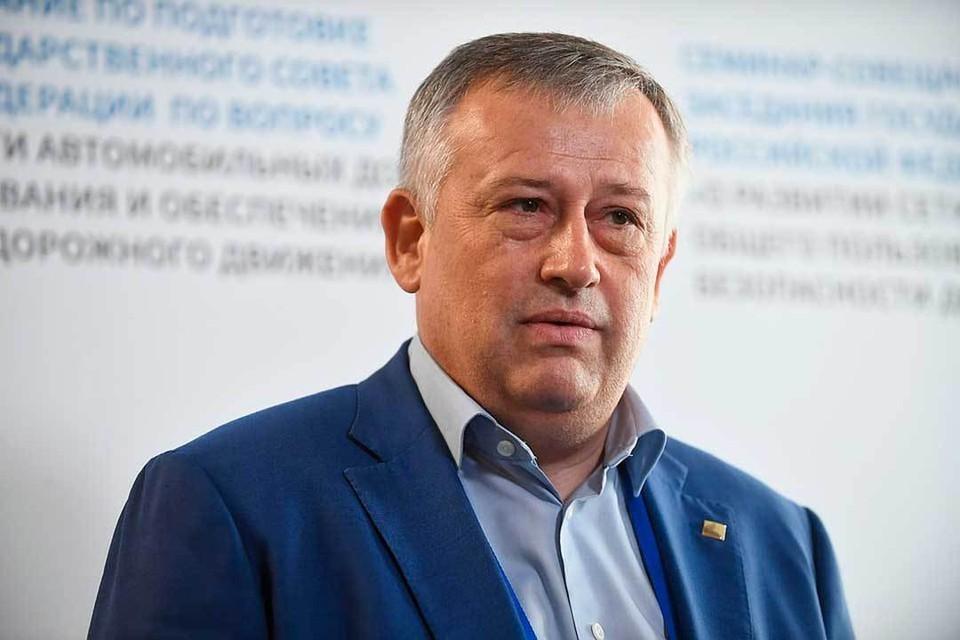 Губернатор Ленинградской области Александр Дрозденко рассказал о переходе региона на строительство по эскроу-счетам. Фото: ТАСС.