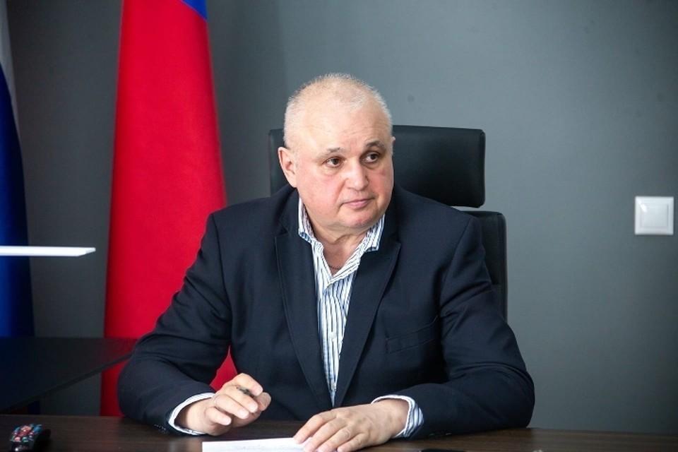 Сергей Цивилев подписал два новых распоряжения по ситуации с коронавирусом. Фото: Пресс-служба АПК