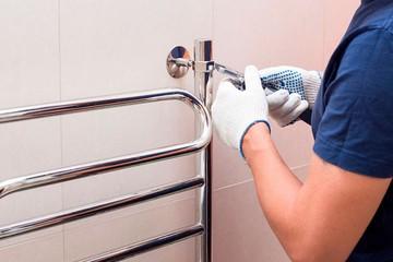 Как подключить полотенцесушитель своими руками: Пошаговая инструкция