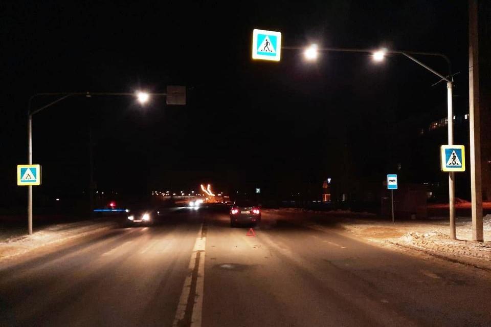 ДТП с пешеходом на Лебедянском шоссе