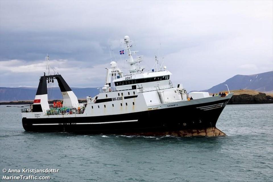 """Речь идет о судах """"Северный орел"""" и """"Сапфир II. Фото: www.marinetraffic.com/"""