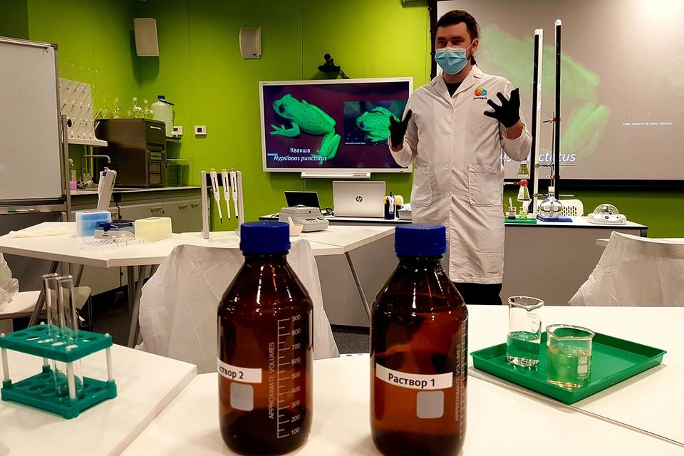 """В парке """"Зарядье"""" вновь открылись занятия по 20 научным программам для школьников"""