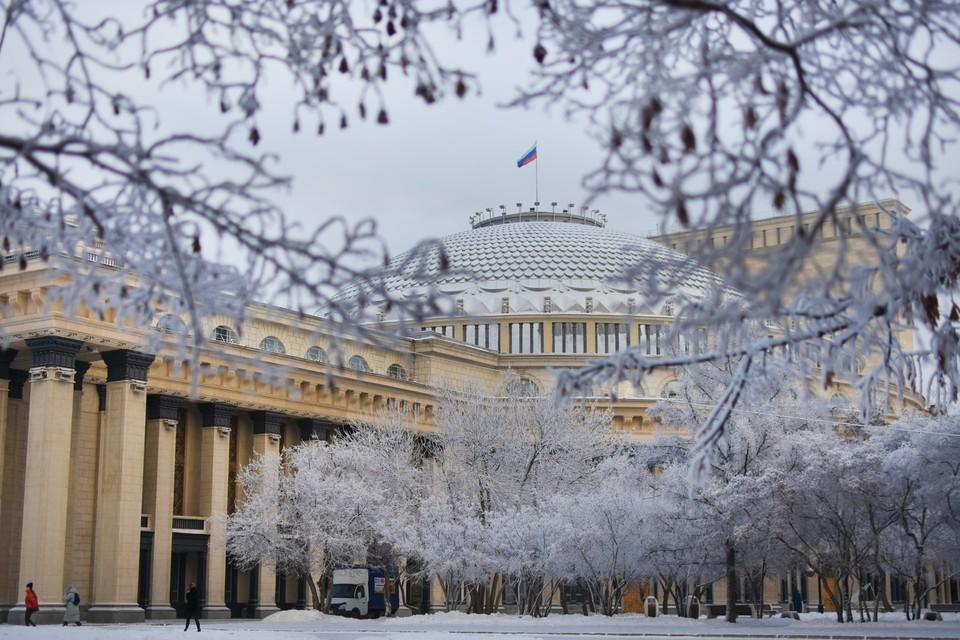 Погода в Новосибирске с 21 по 23 февраля 2021 года ожидается теплая, но снежная.