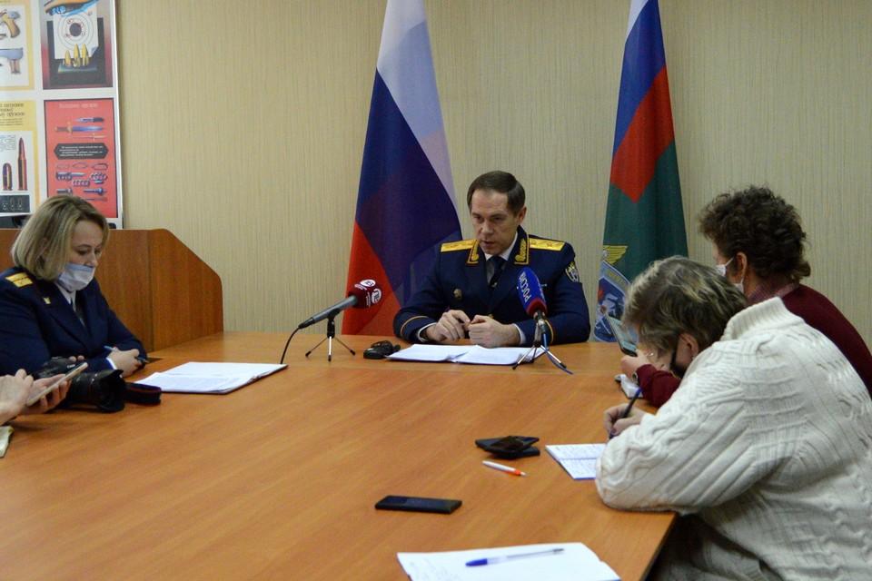 Руководитель регионального СКР предъявил обвинение главе района