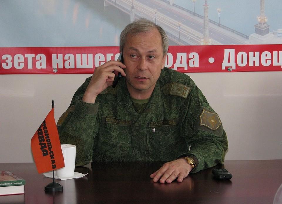 Басурин рассказал о ситуации на фронте