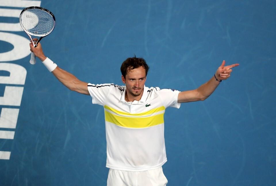 Даниил Медведев поднялся на третье место в рейтинге лучших теннисистов ATP