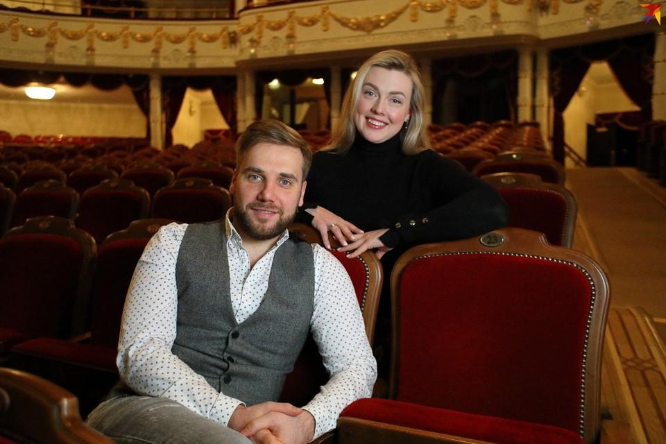 Марта Данусевич солистка Большого театра оперы и балета Беларуси уже пять лет, а Тарас Присяжнюк в труппе с минувшего года.