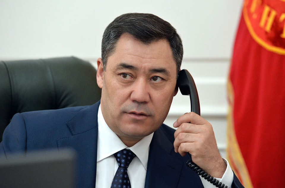 Садыр Жапаров переговорил по телефону с лидером Китая.