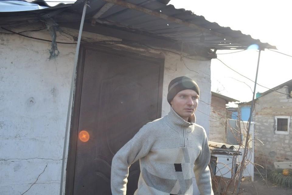Александр Слепцов получил осколочное ранение брюшной полости. Фото: Андрей ЛЫСЕНКО
