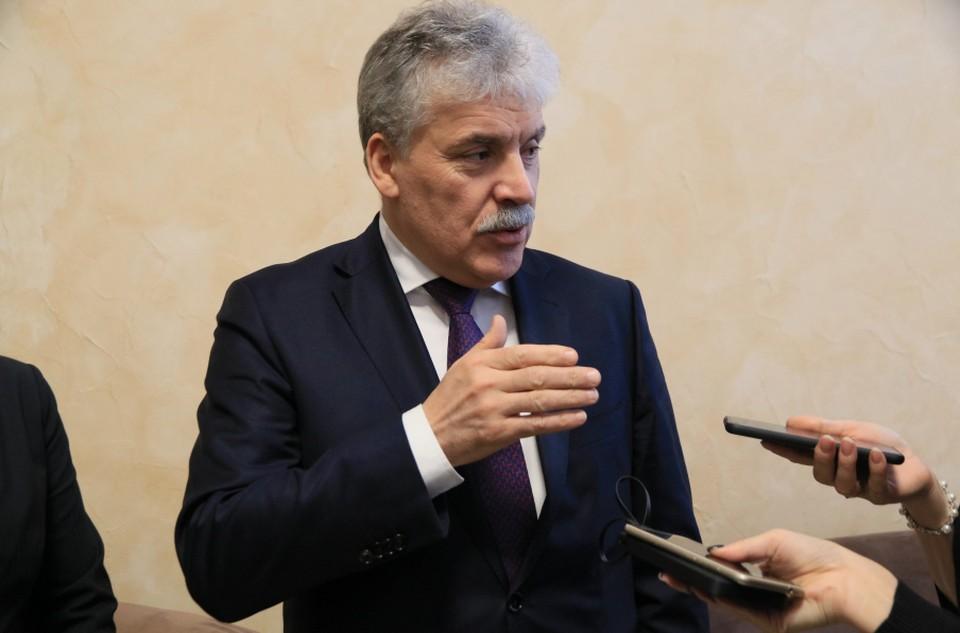 В разговоре с журналистами он подверг критике решение барнаульских властей