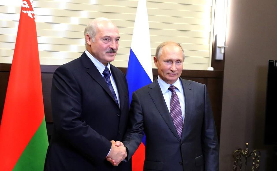 Путин и Лукашенко провели телефонный разговор после встречи в Сочи.