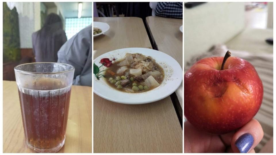Такой обед предлагается съесть школьникам. Фото: «Омск Live»