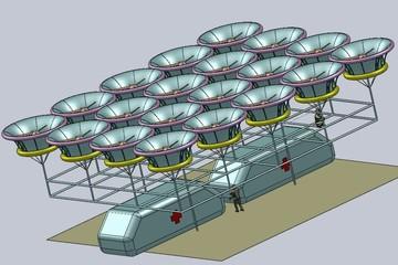 Новосибирские ученые создают квадрокоптер, который сможет спасать людей из горящих высоток