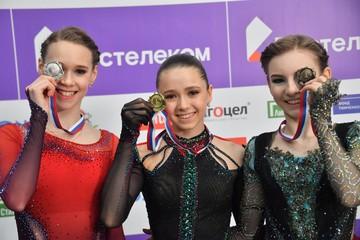 Мир в команде Тутберидзе: Дарья Усачева похвалила Майю Хромых, которая ее обыграла в финале Кубка России