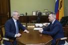 Иван Белозерцев провел рабочую встречу с Александром Самокутяевым