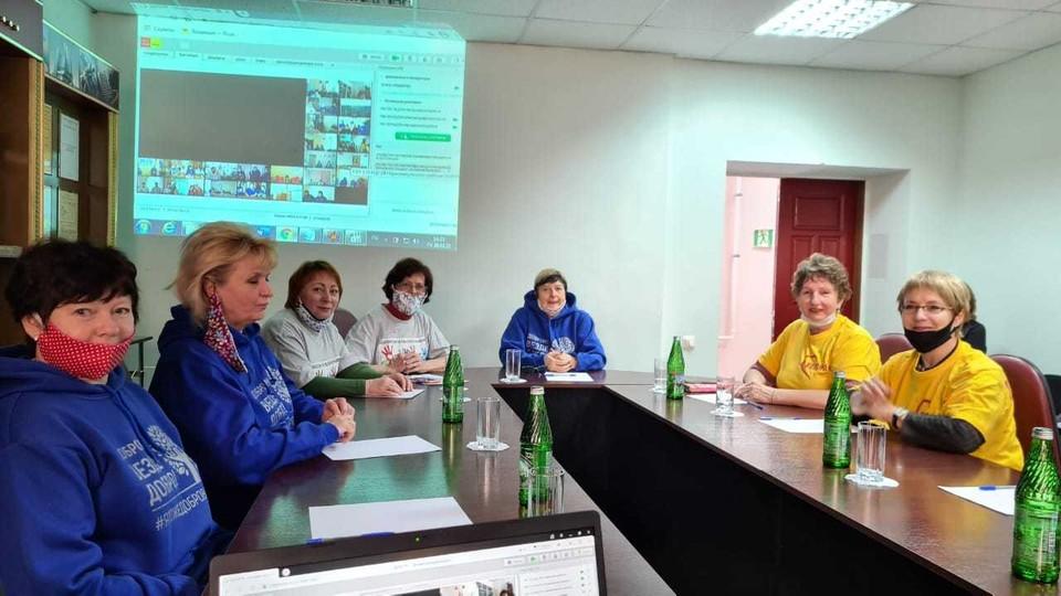 На тему экопроектов прошел семинар. Фото министерства труда и социальной защиты области